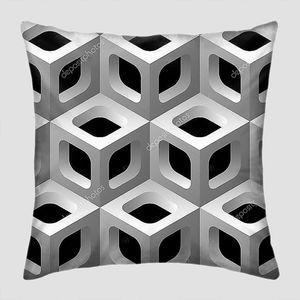 3D решетки бесшовный фон