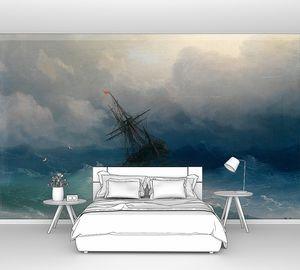 Айвазовский Иван. Корабль в бушующем море