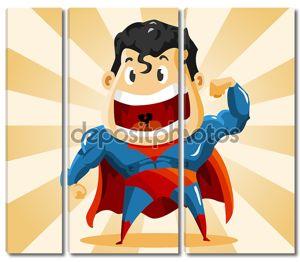 Сильный супер герой
