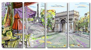 Рисунок Триумфальной арки
