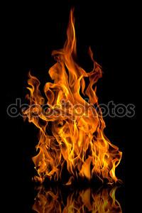 Пылающий огонь