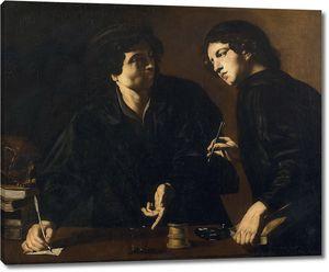 Караччоло Джованни Баттиста. Портрет двух докторов в образе Космы и Дамиана