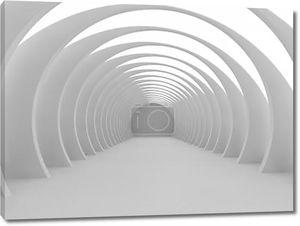 Светлый абстрактный зал 3D