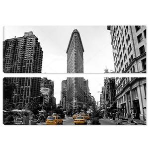 плоский железный, строительство, Нью-Йорк Сити usa.black и белый фото
