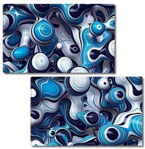 3D волнистые абстрактный фон