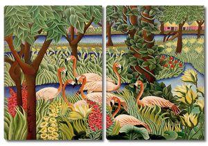 Фламинго в райском саду