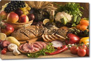 Большая еда-Натюрморт