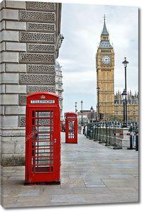 Красное в цветах Лондона