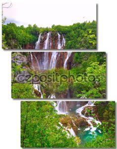 Водопады в парке