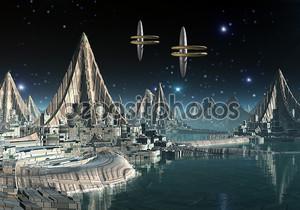 Чужой планете адара