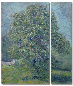 Ван Гог. Цветущий каштан