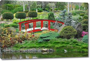 Сцена из японского сада