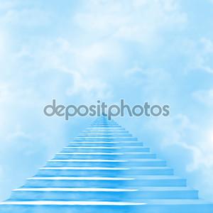 Лестница в небо, ведущая к Богу