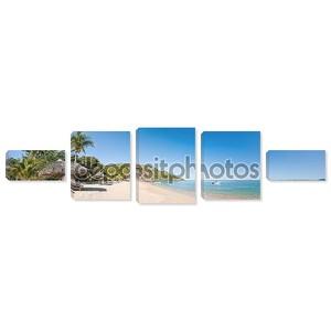 Тропический обзор пляжа