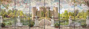 Вид с террасы на большой дворец