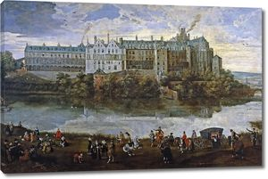 Питер Брейгель (Младший) и Себастьян Вранкс. Королевский дворец в Брюсселе