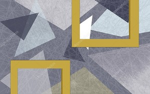 Абстрактная  текстура гранж, геометрические фигуры