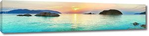 Восход на море. Вьетнам