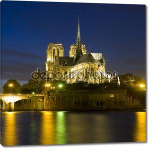 Церковь Нотр-Дам в Париже