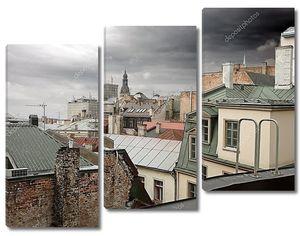 Старая Рига крыши