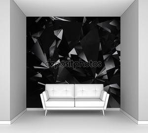 Черный алмаз аспект фон