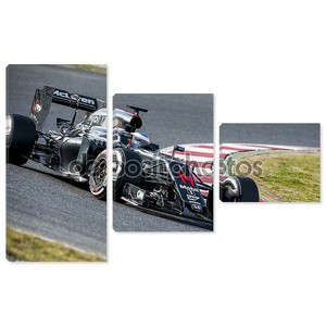Fernando Alonso (Mclaren Honda) - тестирование F1