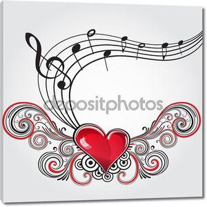 Гранж музыка сердца