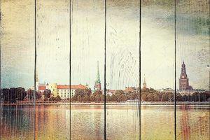 Рижский городской пейзаж