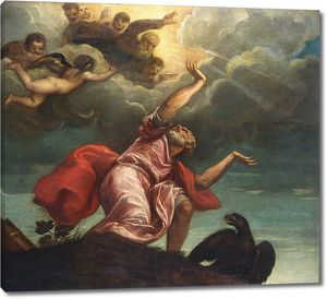 Тициан. Св.Иоанн Евангелист на Патмосе