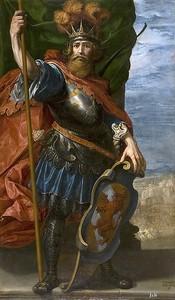Висенте Кардучо. Атаульф, король вестготов