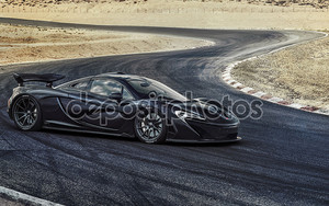 McLaren черный