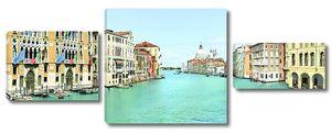 Прекрасная фреска солнечной Венеции