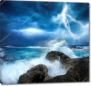 Океанский шторм
