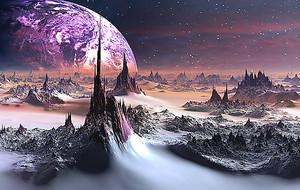 Планета с острыми горами