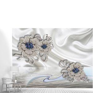 Ювелирные украшения на шелке