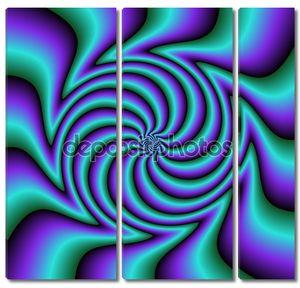 Абстрактные цветные формы