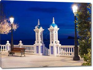 Бенидорм закат mediterraneo balcon Аликанте в Испании