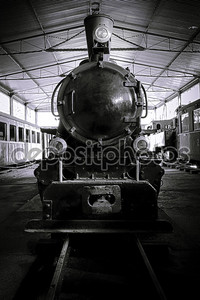 Старый паровоз