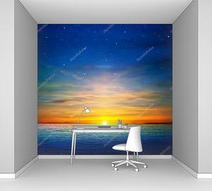 Восход над океаном