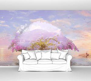 Волшебное дерево на летающем острове