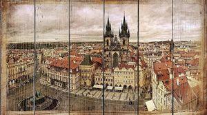 В Праге в Старом городе