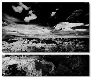 свет и тень в Гранд-Каньон
