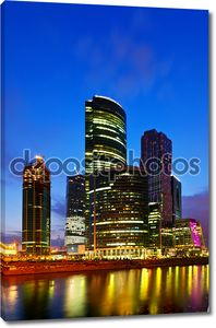 Небоскребов города Москвы
