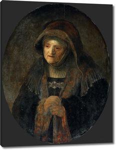 Рембрандт. Портрет матери художника