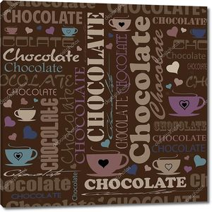Надписи со словом шоколад