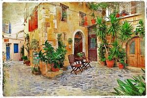Очаровательные улочки Средиземноморья