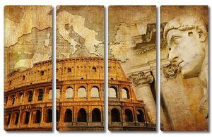 Фреска с Колизеем