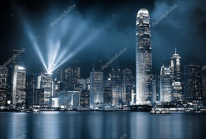 Гонконг ночи