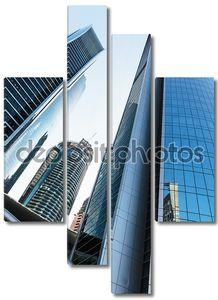 небоскребы зданий в Абу-Даби