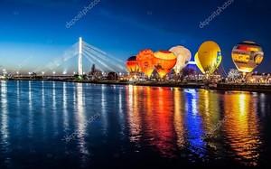 Ночь воздушные шары